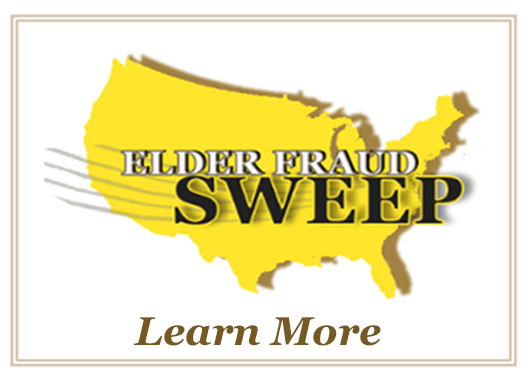 Learn More about Elder Fraud Sweep