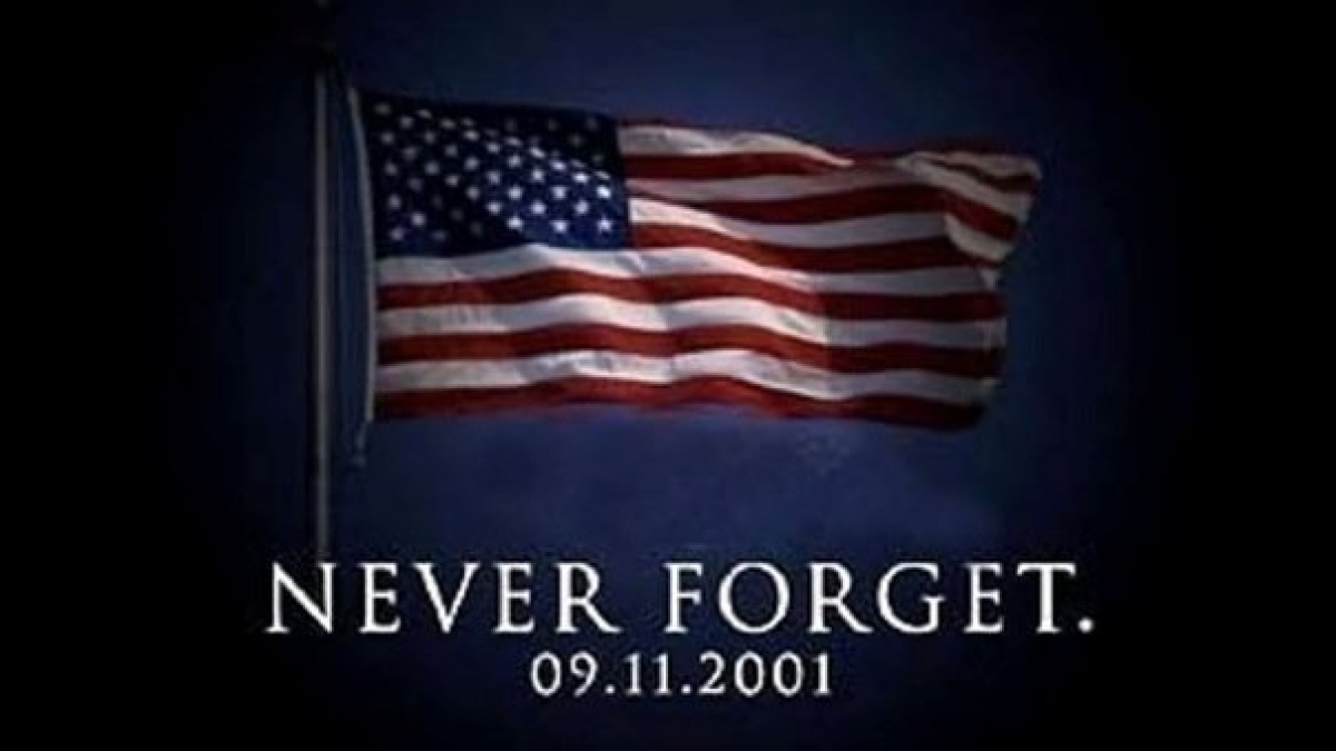 U.S. Flag 9/11 Remembrance