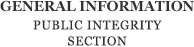 Public Integrity Section