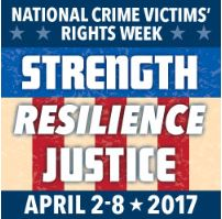 National Crime Victims' Rights Week 2017