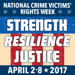 National Crime Victims' Rights Week ad