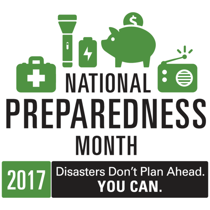 National Preparedness Month 2017