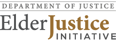 Department of Justice - Elder Justice Initiative