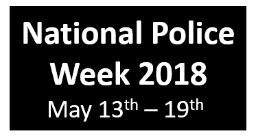 National Police Week 2018