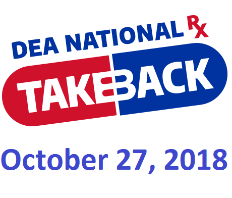 Logo DEA National Rx Takeback Day