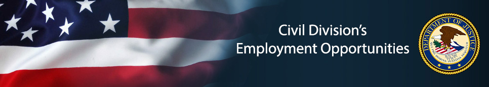 Civil Division's Employment Banner