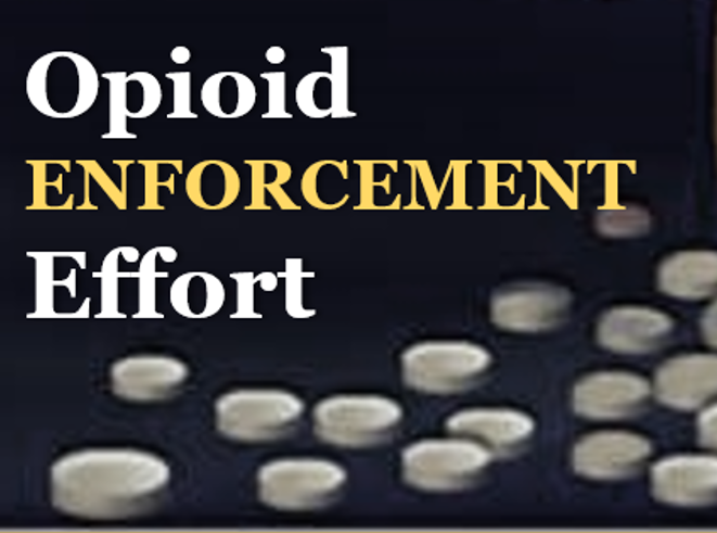 Click to Learn More about the Branch Opioid Enforcement Effort