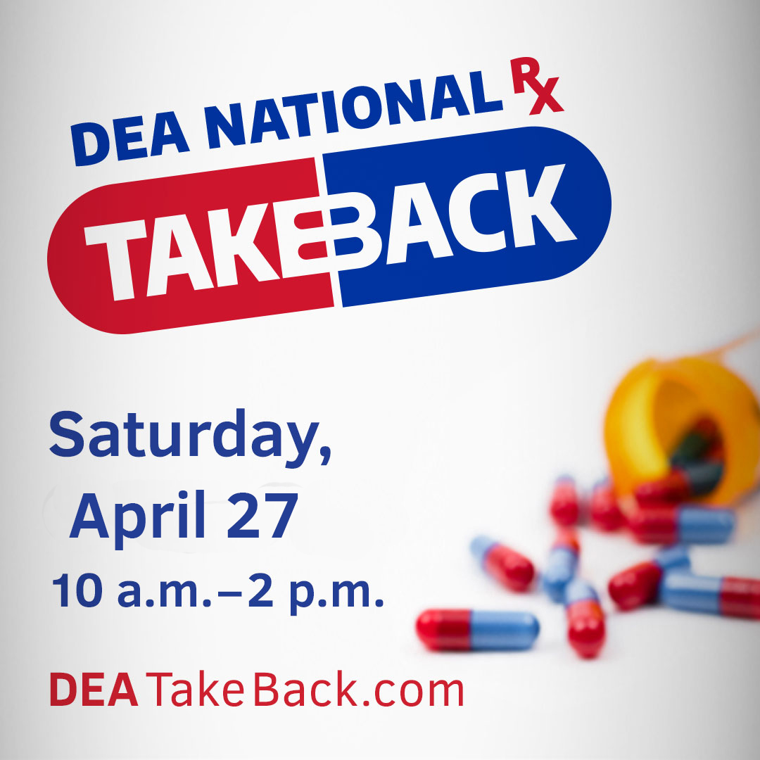 2019 DEA National Rx Take Back Day