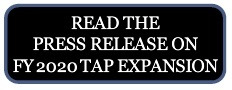 Read the Press Release on FY 2020 TAP Expansion