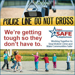Ad for Project Safe Neighborhoods