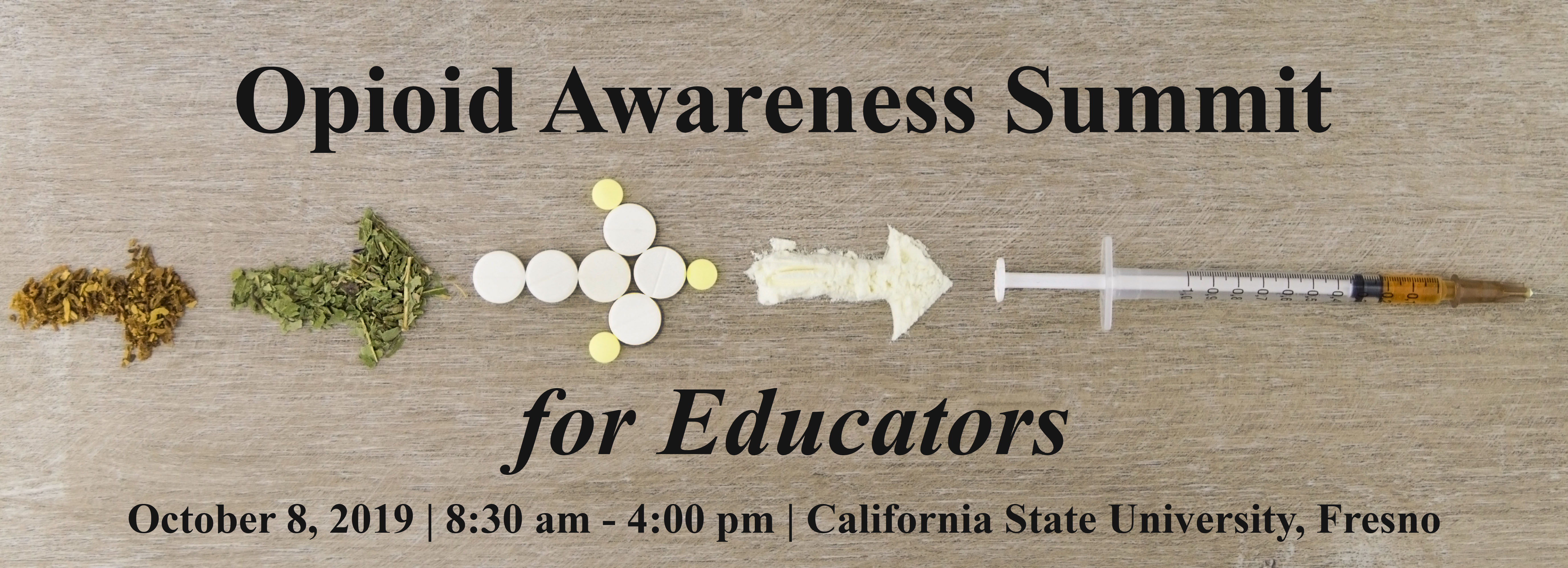 Registration Opioid Awareness Summit