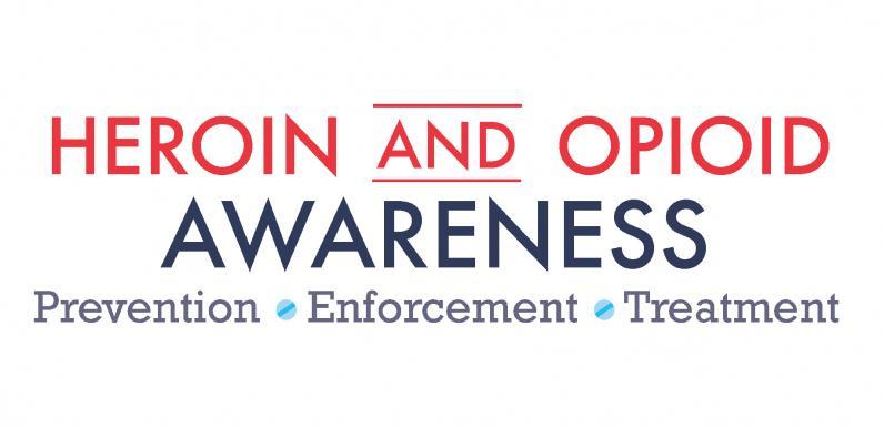 Heroin and Opioid Awareness Logo