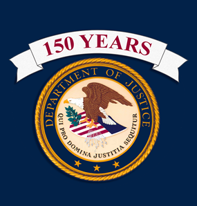 Department of Justice 150 Years