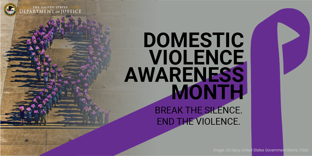 Domestic Violence Awareness Month icon