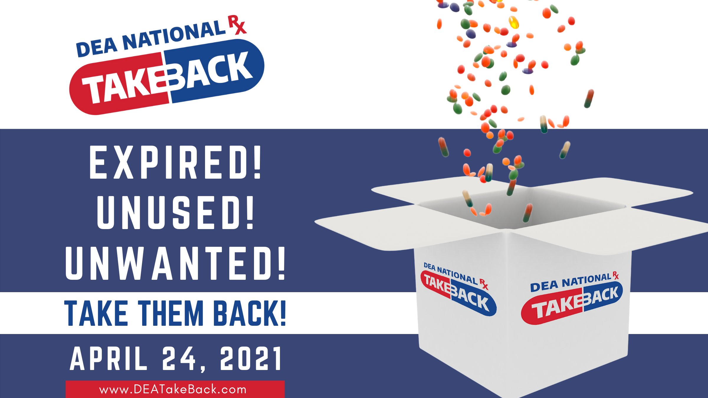 Take Back Day is on April 24, 2021