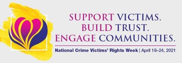 Victim's Rights Week April 18th to 24th