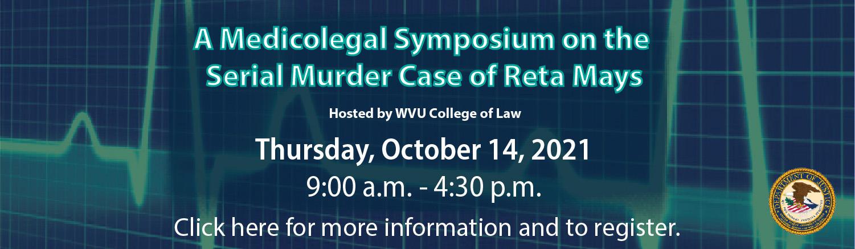 Medicolegal Symposium Banner