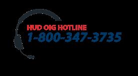 HUD/OIG telephone number
