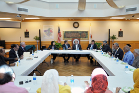 Acting U.S. Attorney Talbert at the Islamic Cultural Center of Fresno