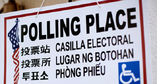 Voting Section Polling Place