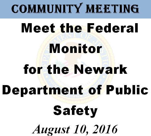 NPD Monitor Community Meeting