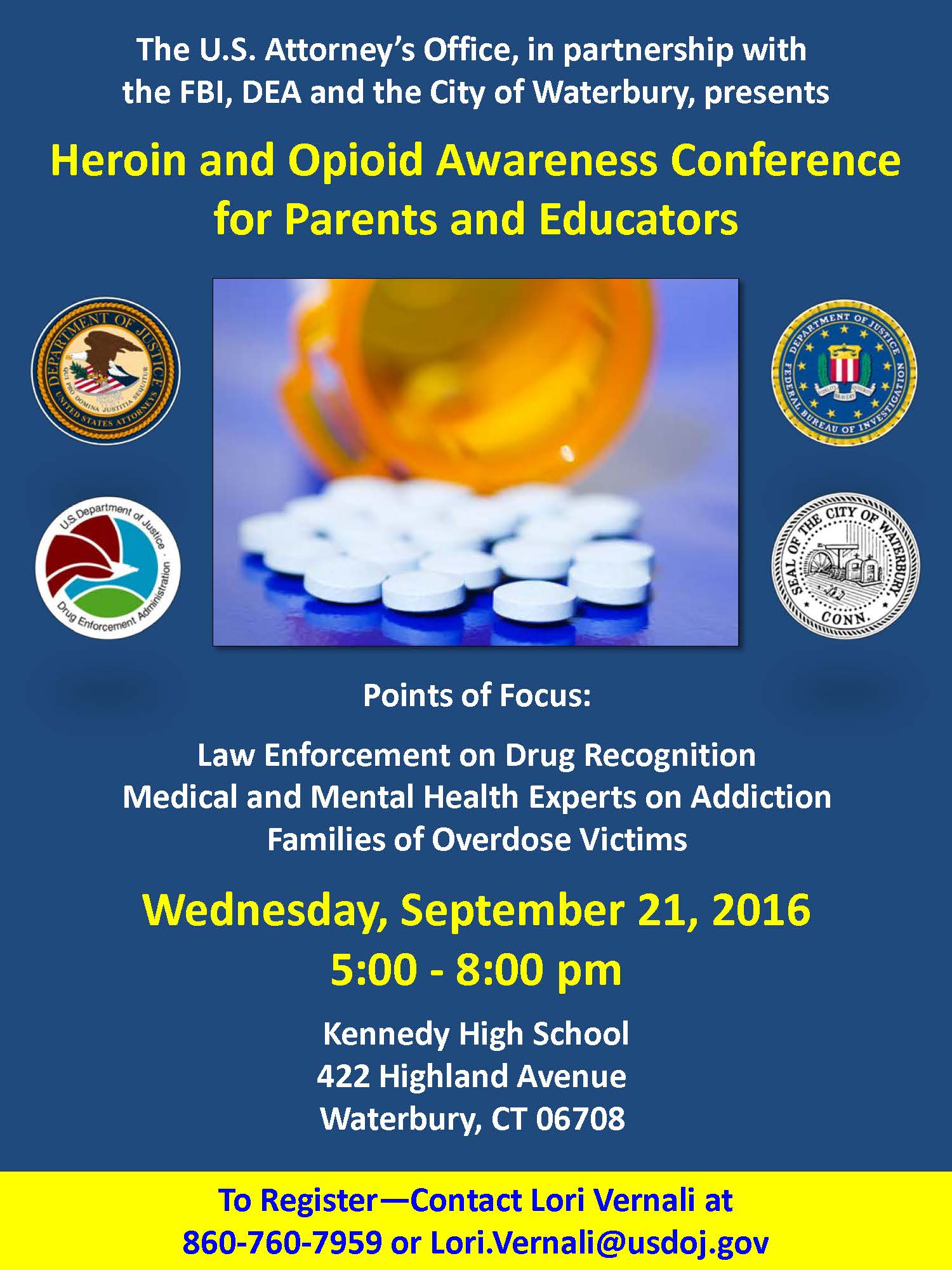 Heroin Opioid Awareness Conference