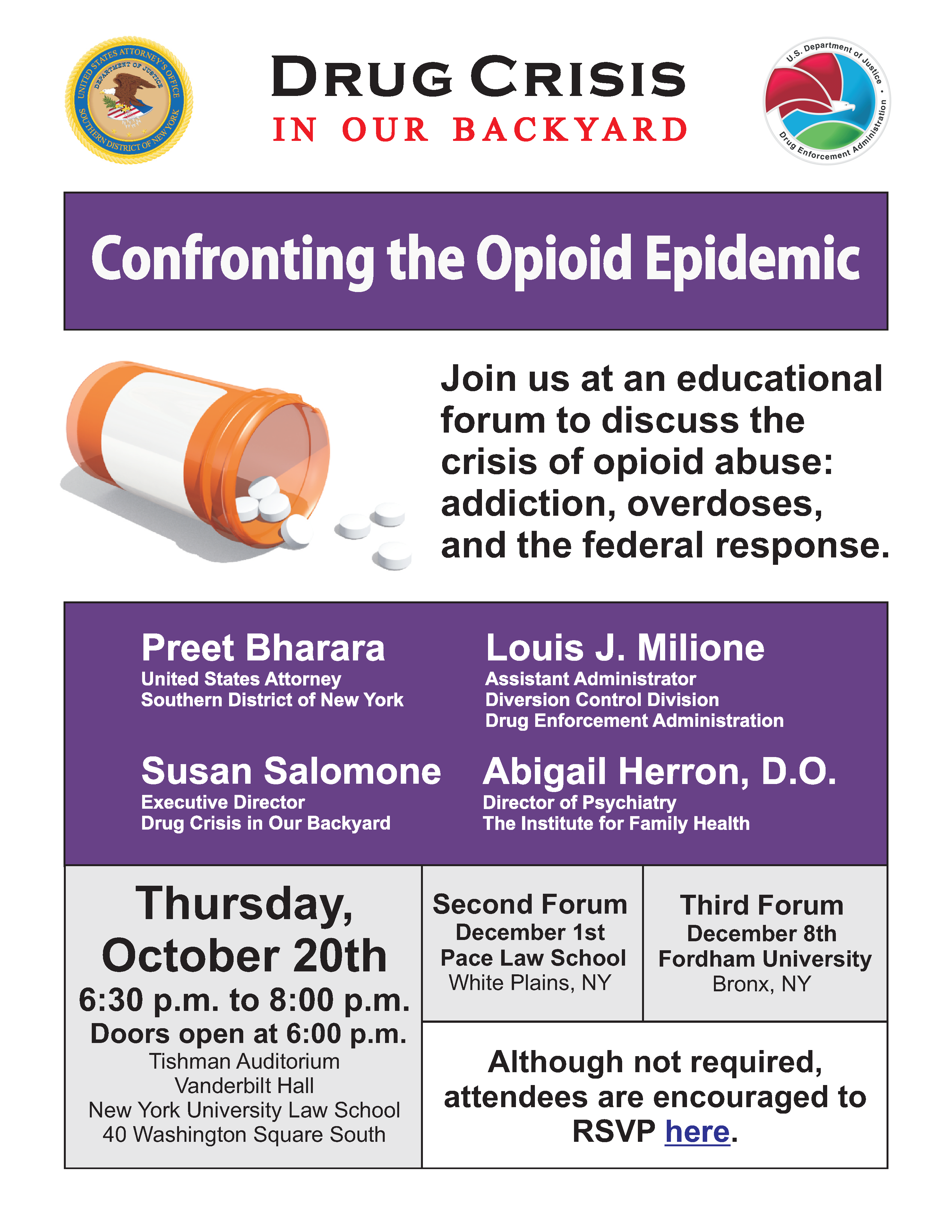 NYU Opioid Forum