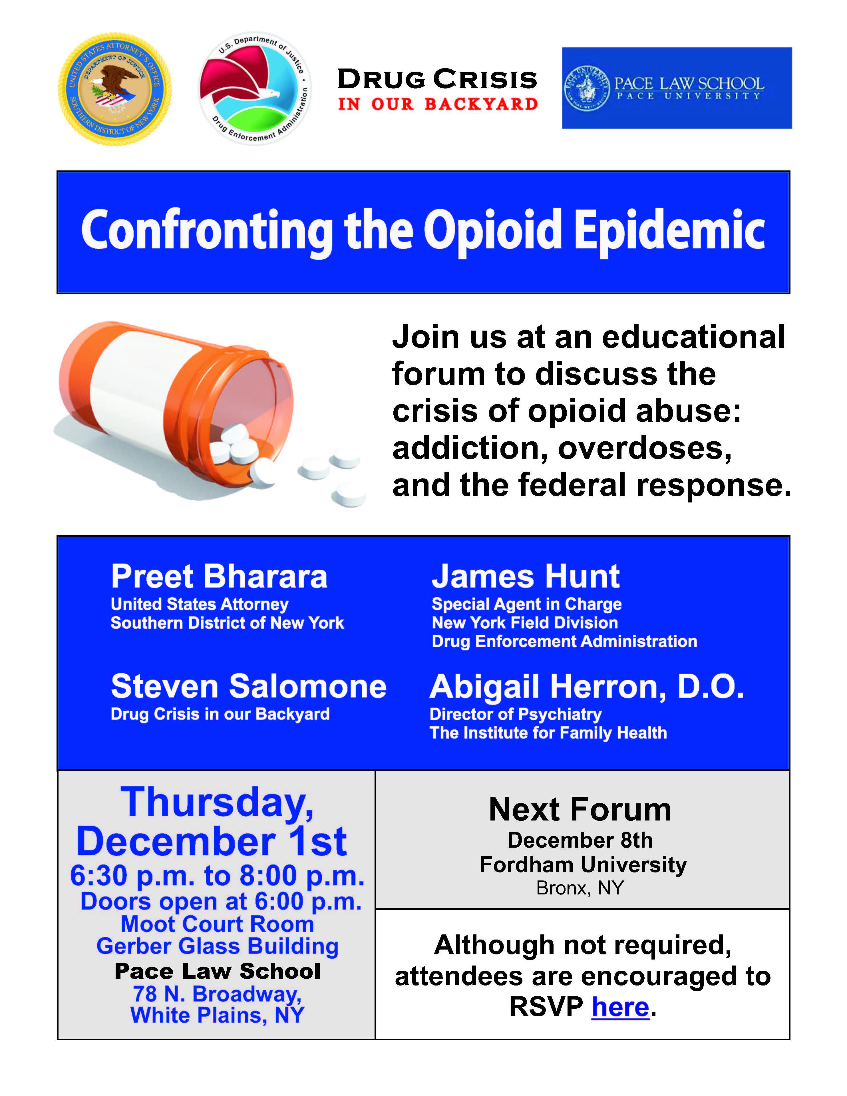 Opioid Crisis Forum