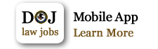 DOJ Law Jobs Mobile App - Learn More