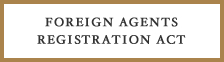Foreign Agents Registration Act