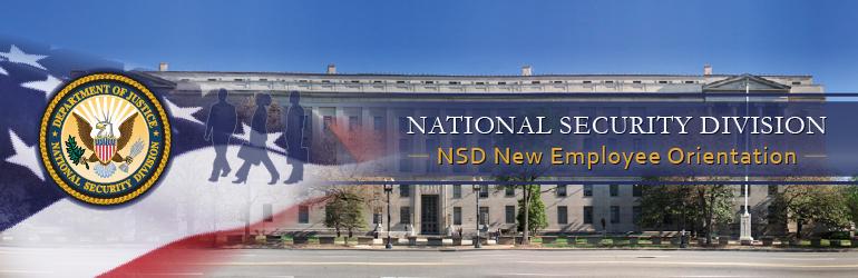 NSD New Employee Orientation Banner