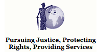 Pursuing Justice, Protecting Rights, Providing Services