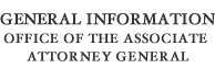 General Information Office of the Associate Attorney General