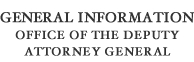 General Information Office of Deputy Attorney General