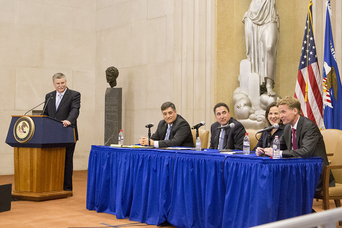 U.S. Attorneys Present Panel Discussion