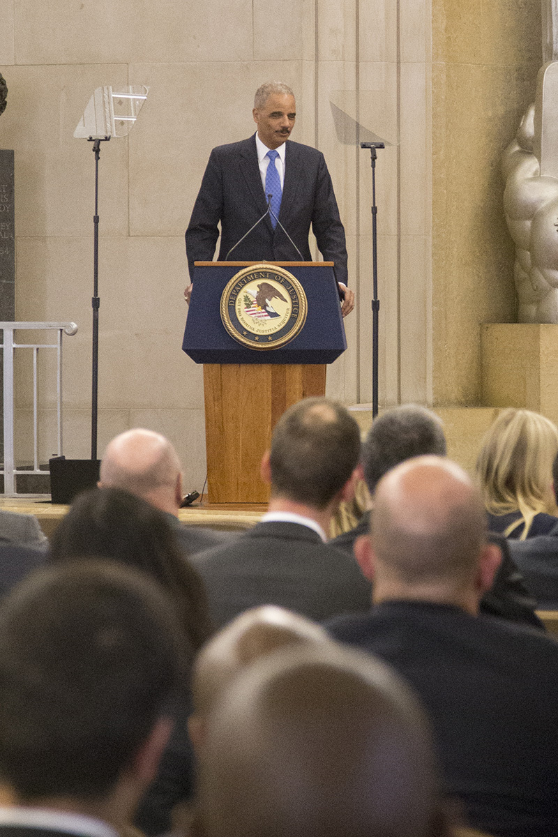 Attorney General Eric Holder Welcomes New Federal Prosecutors