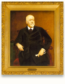 Portrait of Benjamin Bristow