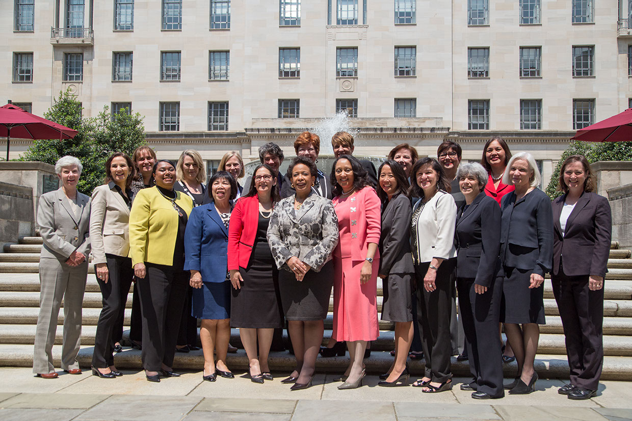 2015 U.S. Attorney Conference - Photo with U.S. Attorney General Loretta Lynch