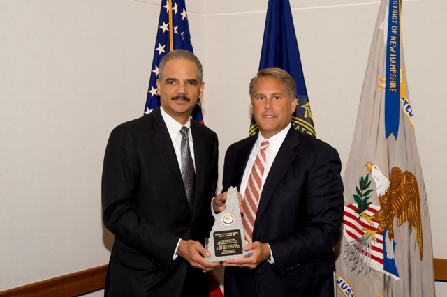 U.S. Attorney John P. Kacavas and Attorney General Holder