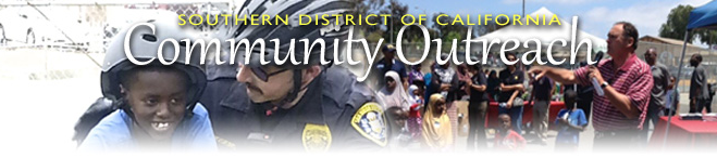 Southern District of California Community Outreach