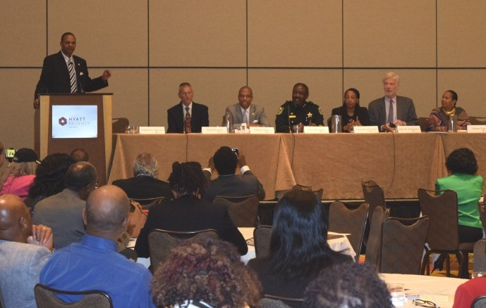 Civil Rights Working Group Panel at NAACP Conference.