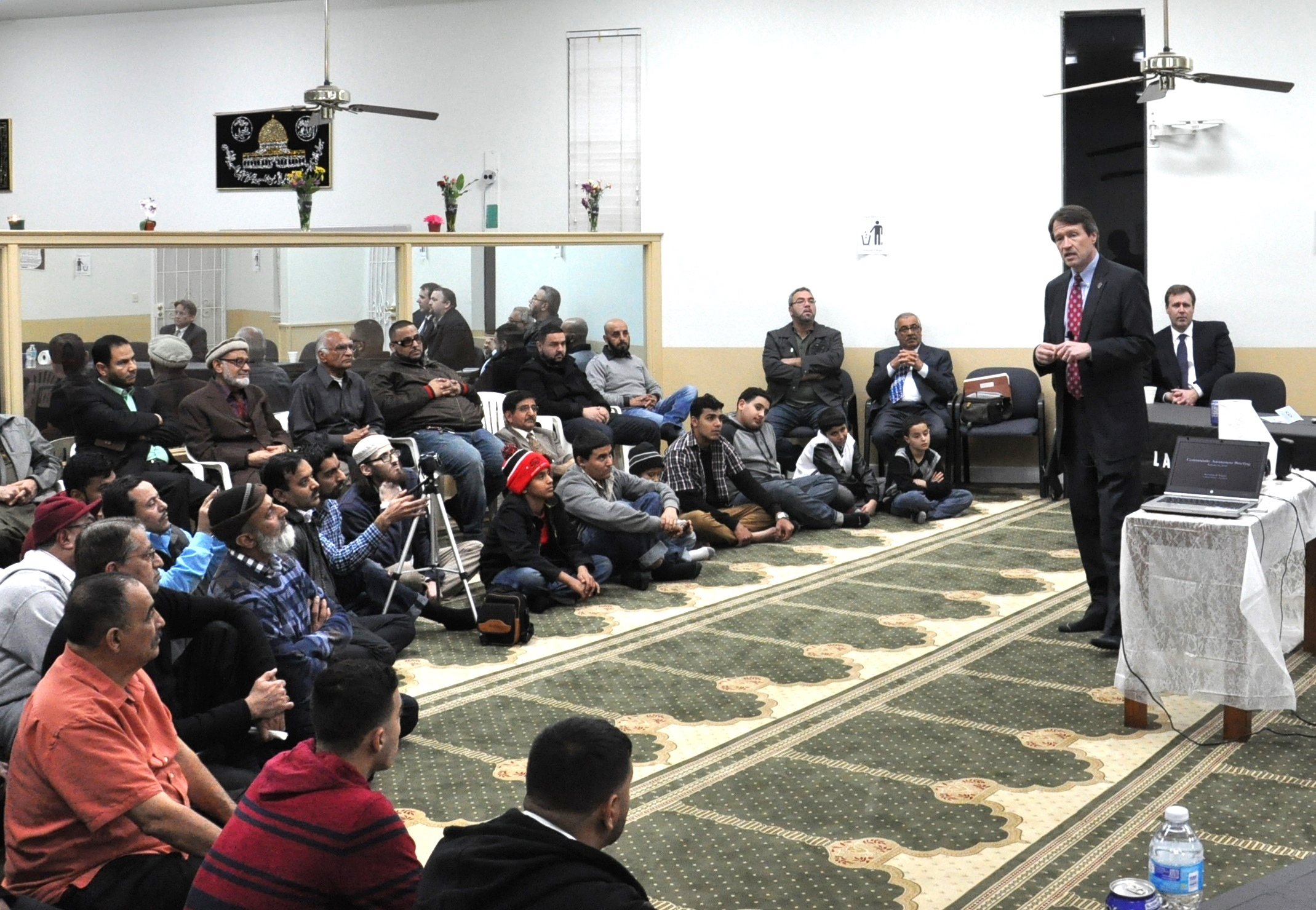 On January 8, 2016, US Attorney Wagner and members of his staff traveled to the Islamic Center of Merced, and later that day to the Madera Islamic Center, to speak to congregants about matters of interest to the Muslim Community