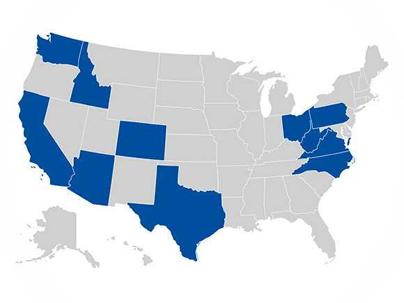 States Where the Combination of Springleaf and OneMain Would Likely Harm Borrowers