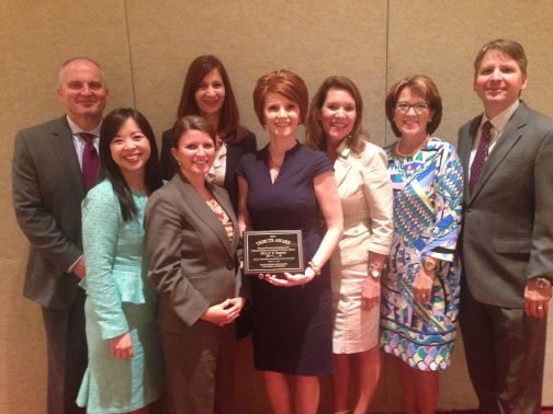 Middle District of Louisiana staff present at Holly Sheets receives Tribute Award
