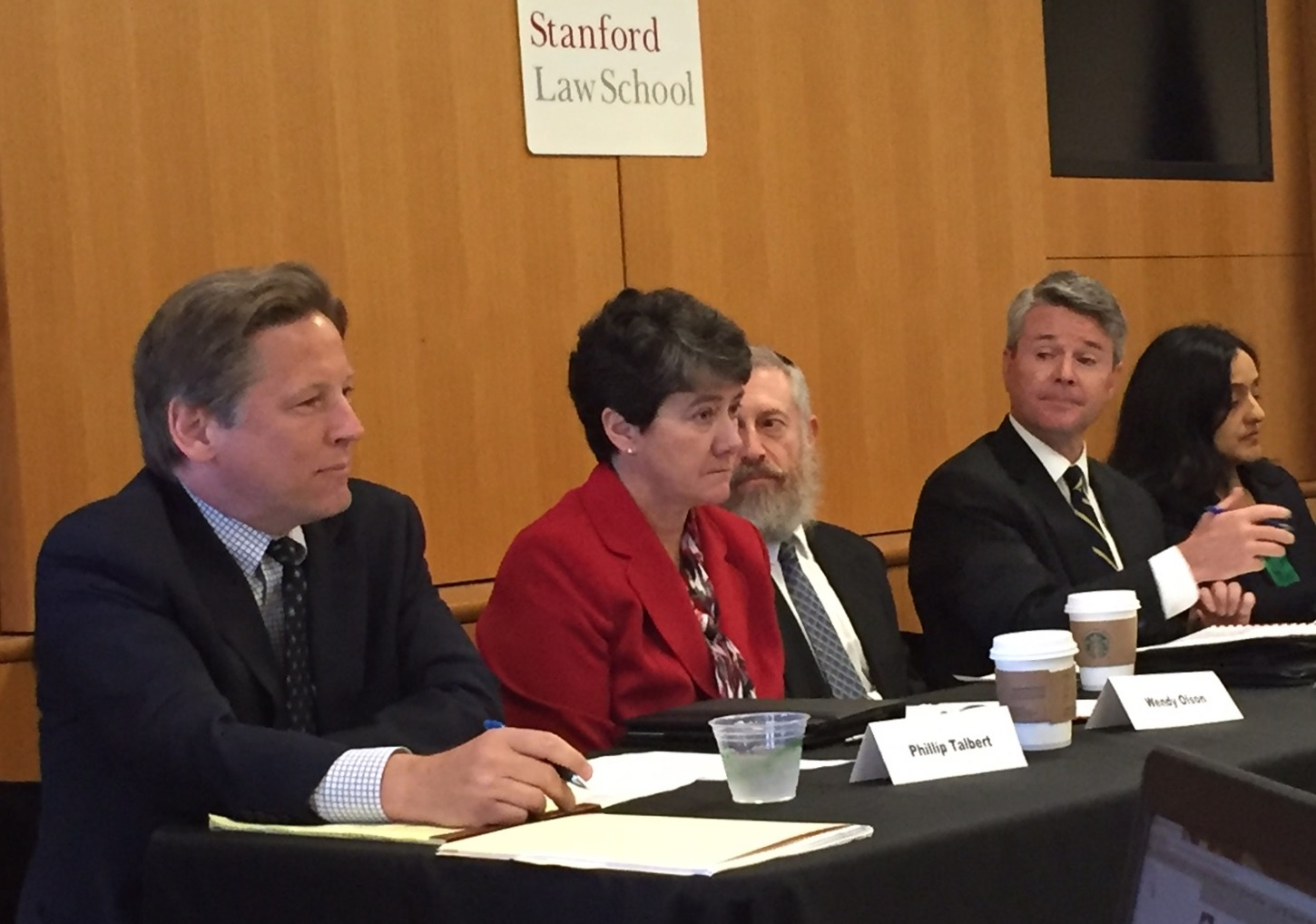 U.S. Attorney Talbert at Stanford Roundtable on Religious Discrimination in Education