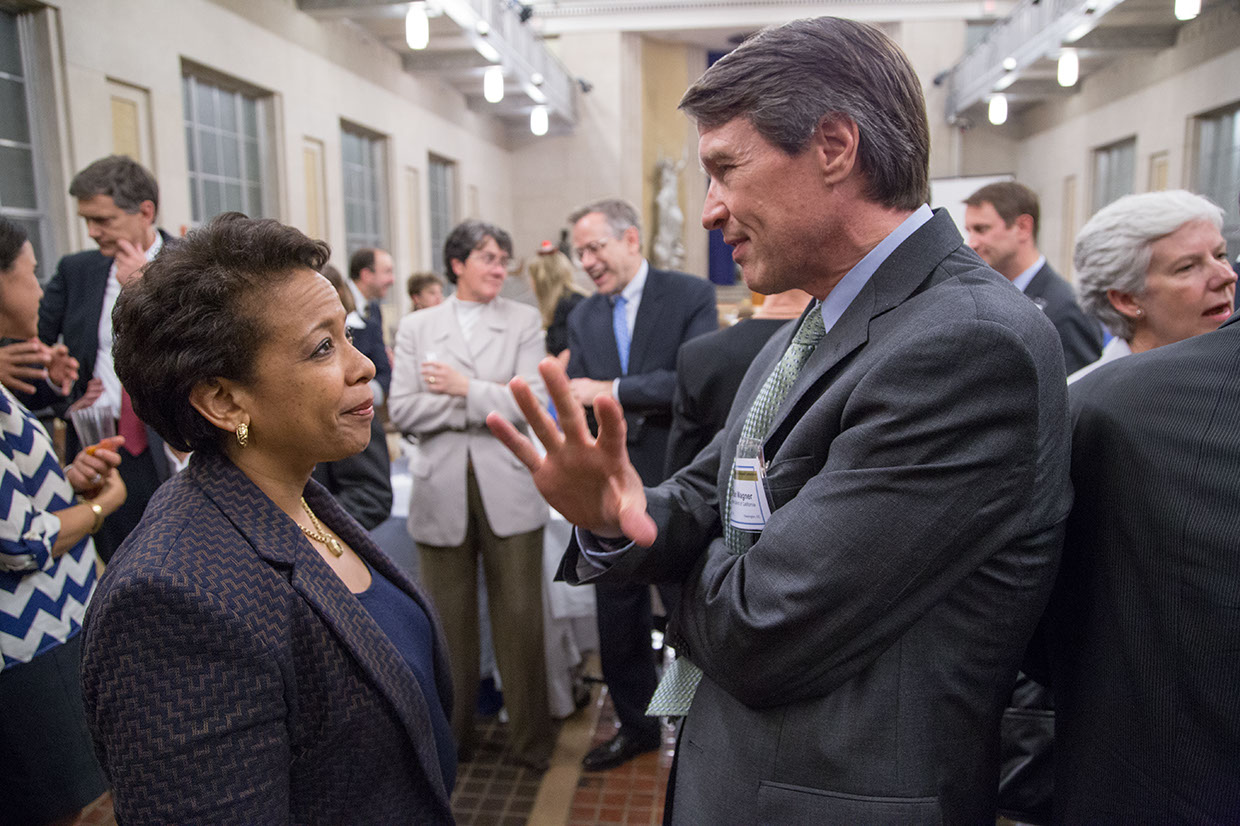 Attorney General Loretta Lynch and US Attorney Ben Wagner