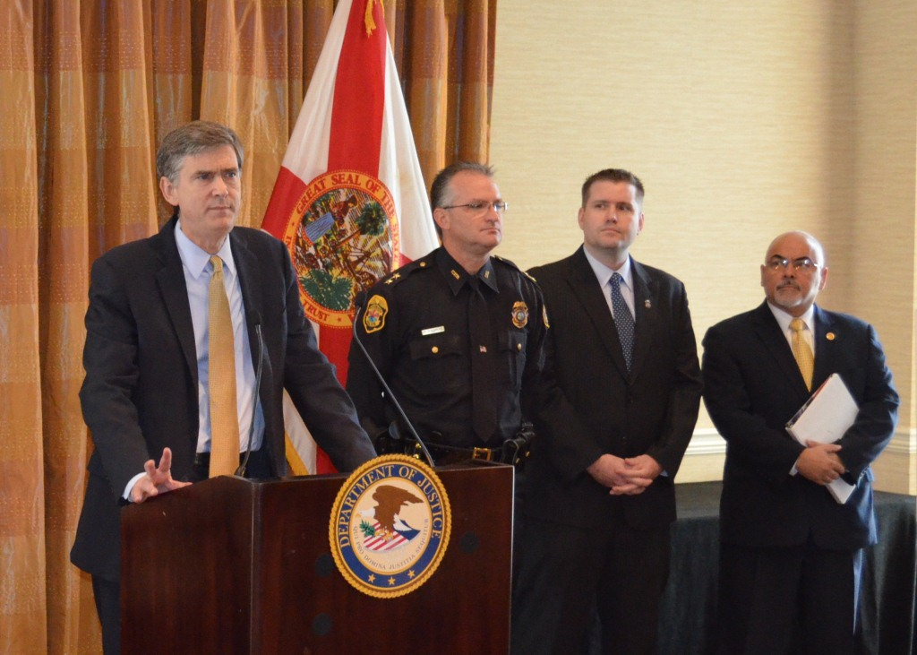 "U.S. Attorney Bentley discusses ""Be Here For Kids"" initiative."