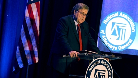 Attorney General Barr speaks at the 2019 National Association of Attorneys General (NAAG) Capital Forum