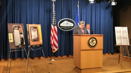 Attorney General Barr & FBI Director Wray Announce Significant Developments in the Investigation of the Naval Air Station Pensacola Shooting