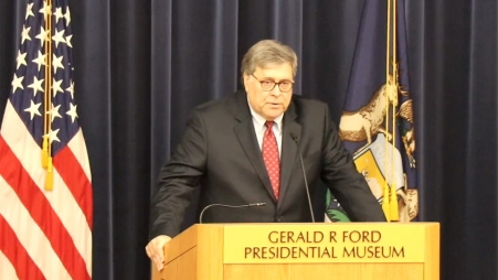 Attorney General Barr's Remarks on China Policy at the Gerald R. Ford Presidential Museum